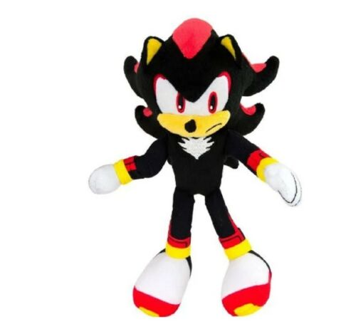 Shadow Frowning 8 Inch Sonic the Hedgehog Plush Toy