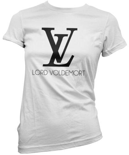 T-SHIRT donna LORD VOLDEMORT maglietta 100/% cotone cool funny idea regalo moda
