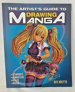 Drawing-Manga-Anime-Artist-039-s-Guide-Ben-Krefta-Techniques-Characters-Styles-NEW