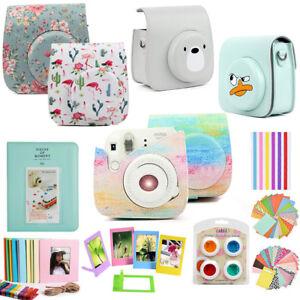 8e2387fc7566 For Fujifilm Instax Mini 9 8 Film Camera Case Cover Bag + Album + 10 ...