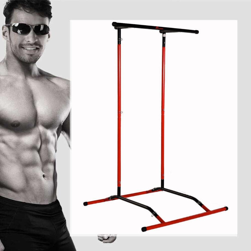 Kinn auf Klimmzug Fitnessstudio Training Stange Fitness Stärke Heim Workout