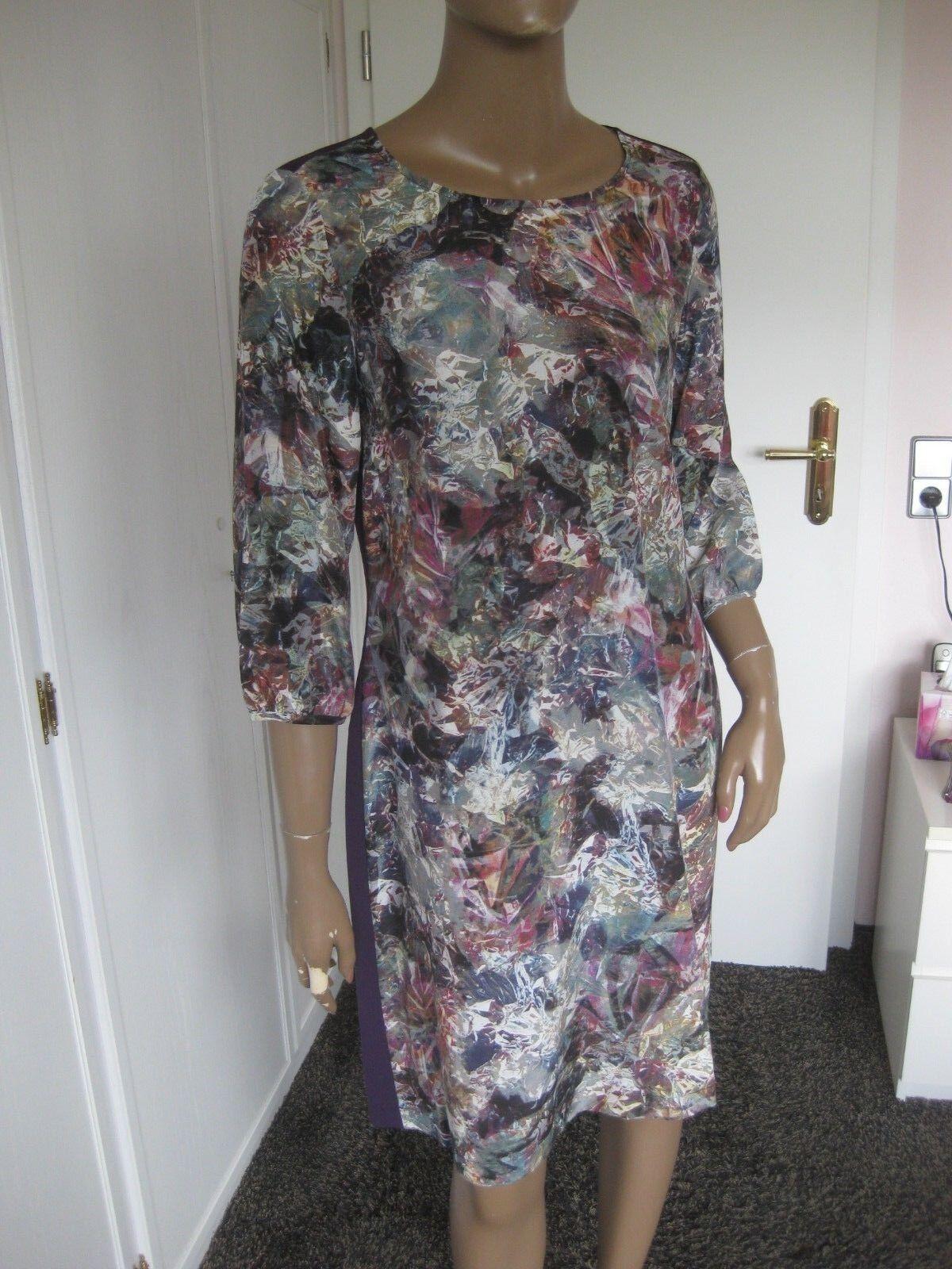LOX Looxent bildschönes Kleid Gr. 40 NEU 3 4 Arm mit Seide | Bevorzugtes Material  | Gewinnen Sie das Lob der Kunden