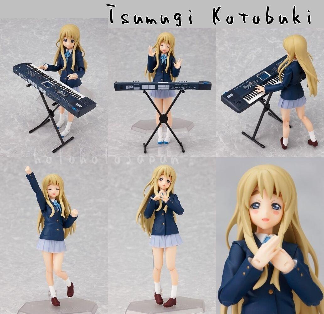 Figma Anime K-on     Yui Mio Ritsu Tsumugi Azusa Action Figure genuine from Japan 715d6f