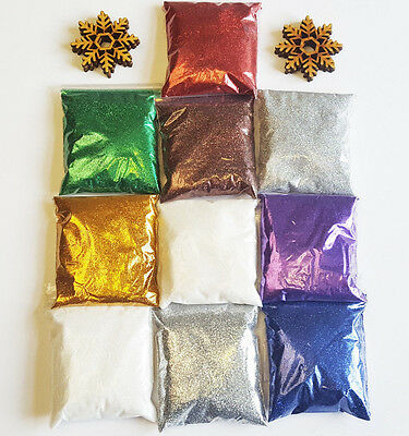 Rockstar Premium Bag of .008 Fine Glitter For Floristry Crafts and Nail Art