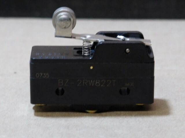 250 or 480 VAC 2PK Micro Switch BZ-2RW80 Snap Action Limit Switch 15A 125