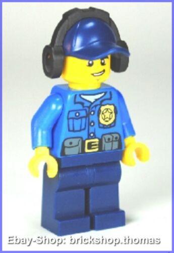 Lego Figur City (cty464) Polizist mit Kopfhörer - Police Minifig - NEU / NEW