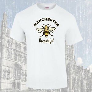 Manchester-Worker-Bee-Beeautiful-T-Shirt-Choice-of-Colours