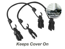 """Car Cover Security Gust Guard- Complete 12"""" Gust Guard Kit - 2 Bungee's & 4 Clip"""