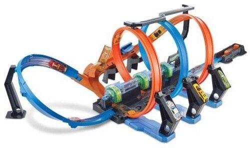 Mattel Hot Wheels Toy New Toy Corkscrew Crash Toy Car