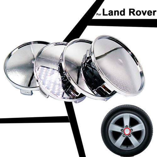 65 68mm Car Emblem Badge Sticker Wheel Centre Caps for Land Rover Auto Hubcaps