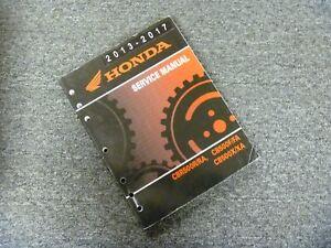 2017 honda cb500x service manual