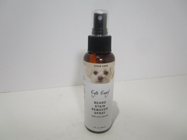 Eye Envy Beard Stain Remover All Natural Pet Hair Facial Cleanser Dogs Cats 4oz.