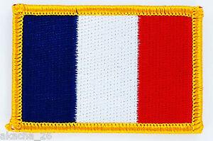 PATCH ECUSSON BRODE DRAPEAU FRANCE français INSIGNE THERMOCOLLANT NEUF FLAG gMwzhWsO-09165717-622161724