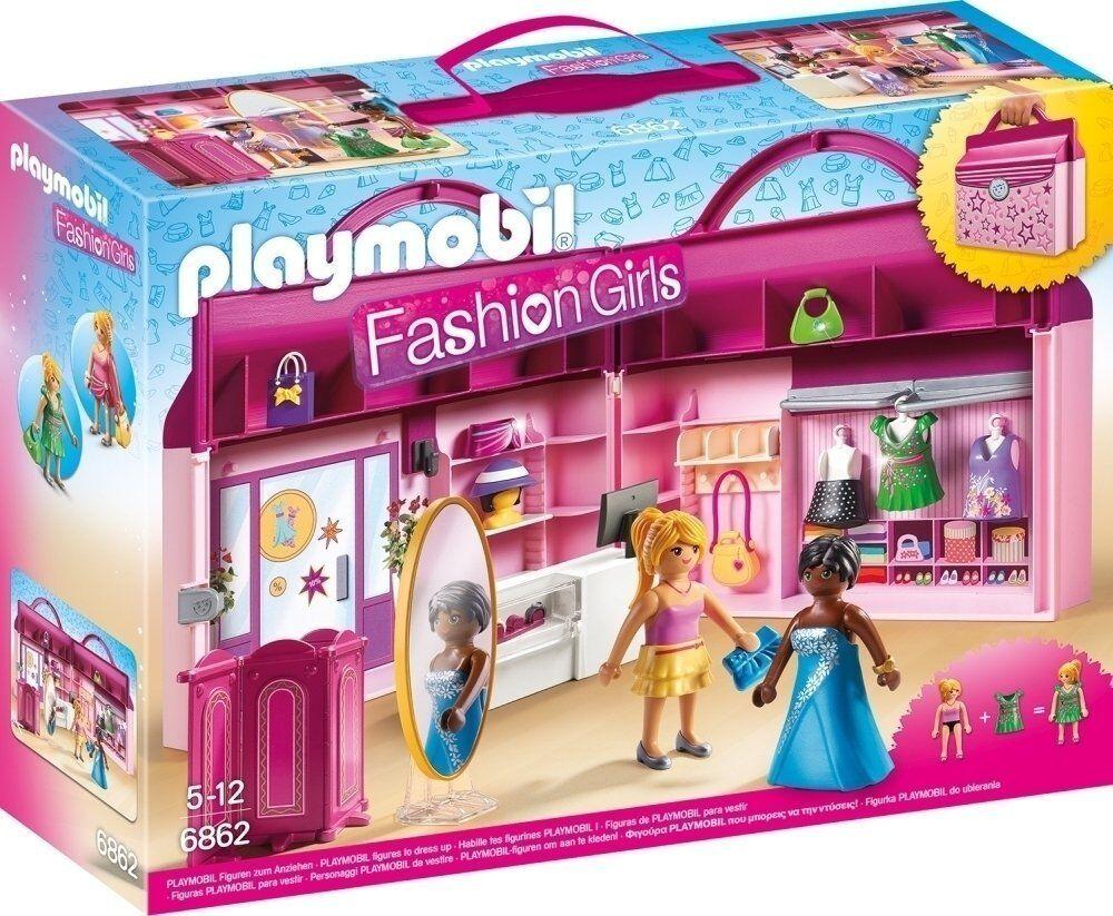 Playmobil Mode Mädchen 6862- Werkzeugkoffer, Zelt de moda. De 5 a 12 años