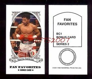B-New-Pacman-Manny-Pacquiao-1-Fan-Favorite-2011-Sport-Boxing-Card-USA-Fast-S-H