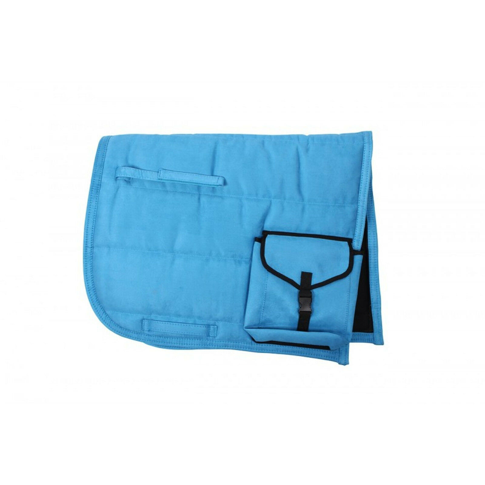 Qhp Sattelpad PUFF Pad con borsa Suedine FONOASSORBENTI inferiore molti Coloreeei
