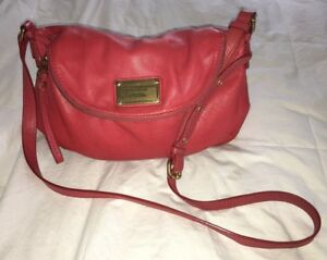 48c8783fd34f MARC BY MARC JACOBS  Classic Q Natasha  Salmon Coral Leather ...