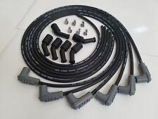 V6 Msd 85mm Lsx Ls1 Universal Unassembled 90 Degree Spark Plug Boots Wires Bk