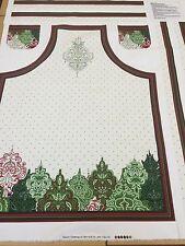 Christmas Apron Panel By Fabri-Quilt - 100% Heavyweight Cotton - Patt 114A-142