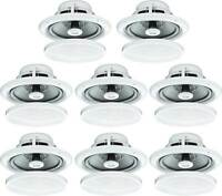 "8X 5"" 80W MOISTURE RESISTANT CEILING SPEAKERS FOR BATHROOM OR KITCHEN B402 B"