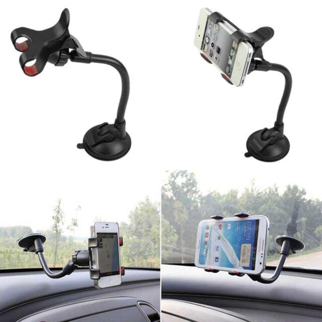 Universal 360° Rotation Car Windshield Mount Holder Bracket For iPhone 5 6 GPS