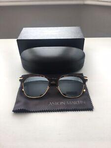 499-Official-ASTON-MARTIN-Tortoise-Havana-amp-Gold-Tone-Sunglasses-Made-In-ITALY