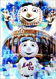 2020-Mr-Met-Mascot-New-York-Mets-6-25-Art-ACEO-Blue-Sketch-Print-Card-By-Q