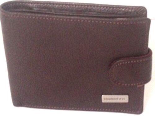 cuir portemonnaie homme Portefeuille à l'italienne Eléphant d'OR Marron