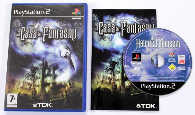 Sony PLAYSTATION 2 PS2 LA CASA DEI FANTASMI 2004 Disney TDK SLES-52216