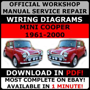 OFFICIAL-WORKSHOP-Service-Repair-MANUAL-MINI-COOPER-1961-2000