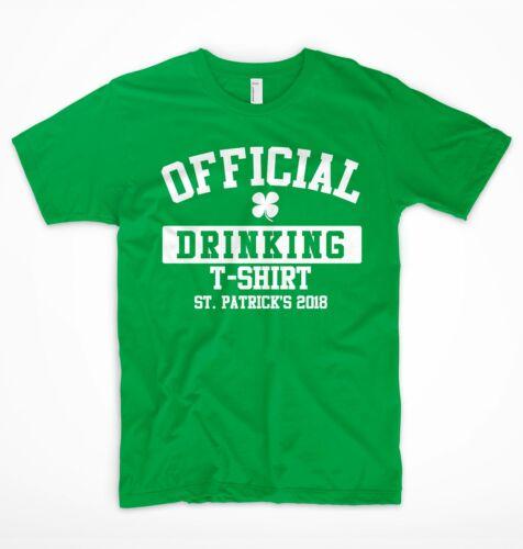 St Patricks Day T Shirt Ireland Irish Leprechaun Drunk Beer Paddy Funny Pub