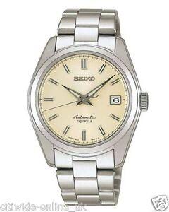 Seiko SARB035 Mechanical Automatic White Dial Men's Wrist Watch *UK TAX FREE FBA