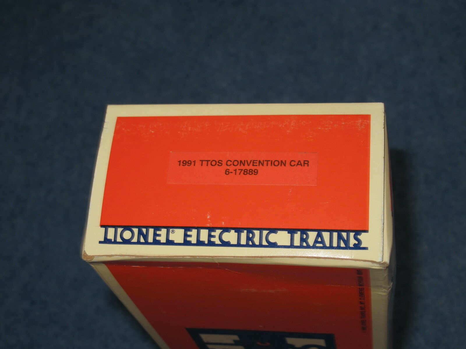 1991 Lionel 6-17889 6-17889 6-17889 TTOS Southern Pacific Flat Car with Trailer L1464 21196a