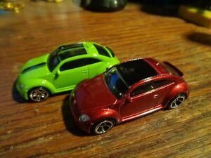 """2016 Hot Wheels /""""Volkswagen/"""" Volkswagen Beetle GREEN//MINT"""