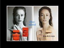 Narciso Rodriguez 2x Liquatouch Probe Eau de Parfum Rouge + Poudree Duftkarte