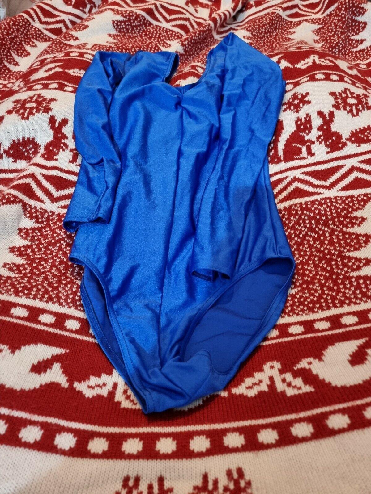 *Lovely Ladies Blue Katz Dance Leptard Size 3 Small*🙂