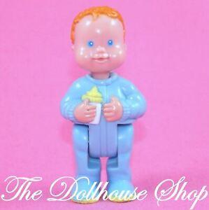 Fisher-Price-Loving-Family-Dream-Dollhouse-Blue-baby-boy-doll-nursery-People