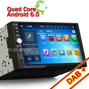 7 doppel din universal dab android 6 0 autoradio gps wifi. Black Bedroom Furniture Sets. Home Design Ideas