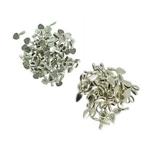 200pcs-Glue-on-Bails-Pendant-Hanger-Antique-Silver-Leaf-Heart-Charms-Finding