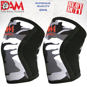 DAM-Knee-Sleeve-Powerlifting-Weightlifting-Patella-Support-Brace-Protector-Camo