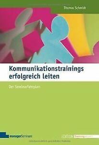 Kommunikationstrainings-erfolgreich-leiten-Der-Seminarf-Buch-Zustand-gut