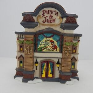Dept-56-Dickens-Village-Punch-amp-Judy-Theatre-4036511-New-Retired