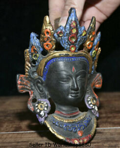 Scratch special price Tibet fane bronze Painted Protector