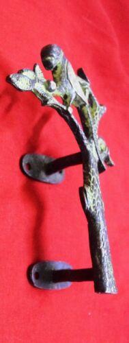 Brass Tree With Parrot Shape Door Handle Park Gate Garden Door Pull Handle CS14