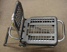 Multi-Function Luggage Cart / Chair - Steel and Plastic Construction #LC-803