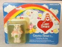 Vintage 1984 Care Bears Grams Bear 2 Pvc Miniature Figure Kenner Original