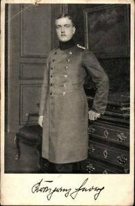 Ansichtskarte-PK-sw-Portraet-Prinz-Georg-v-Bayern-Foto-Roter-Kreuz-Tag-1914