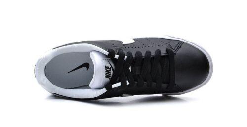 damesschoenen Tour Skinny 010 532364 Nike wit leren zwart casual Court qCSRX