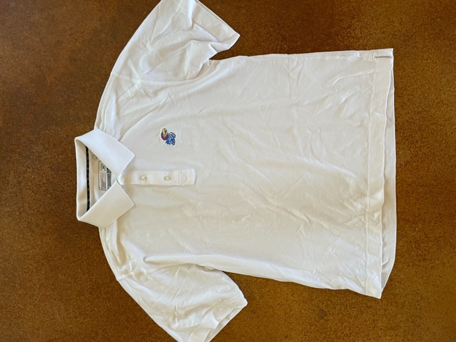 Cutter and buck Kansas University Jayhawks white … - image 5