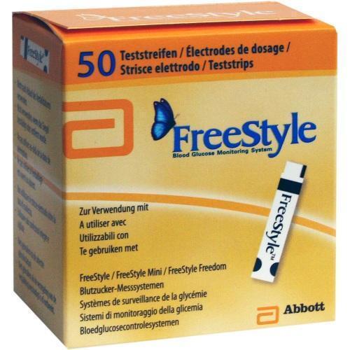 FREESTYLE Teststreifen 50St Teststreifen PZN 1510654
